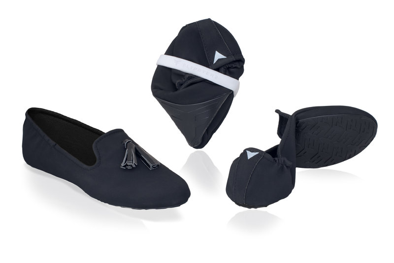 Tassel Slippers Foldable Shoe by Flipsters