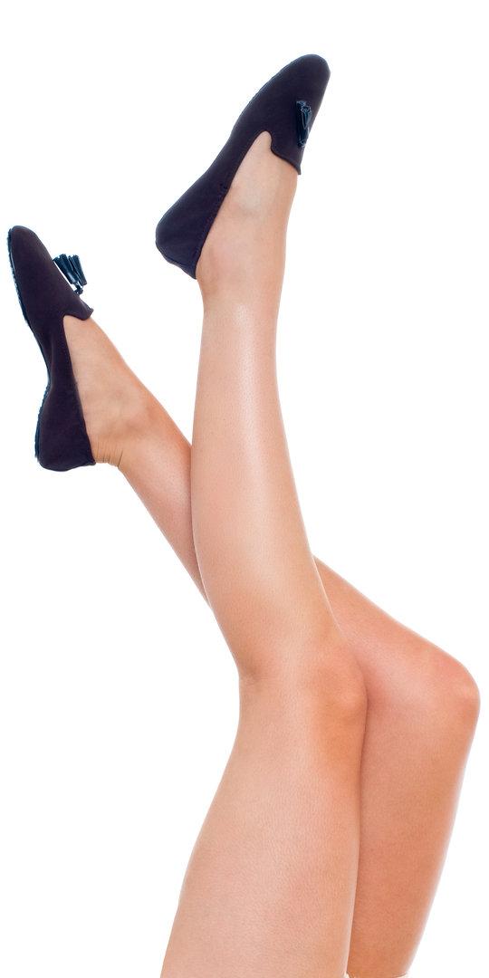 Tassel Slippers Foldable Shoe by Flipsters