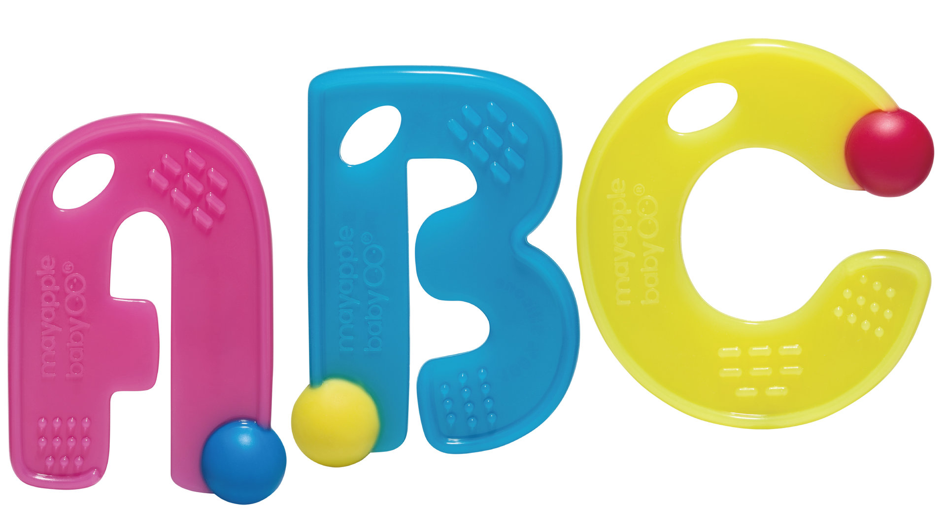 Baby Teething Toy ABC Letters shopgirl