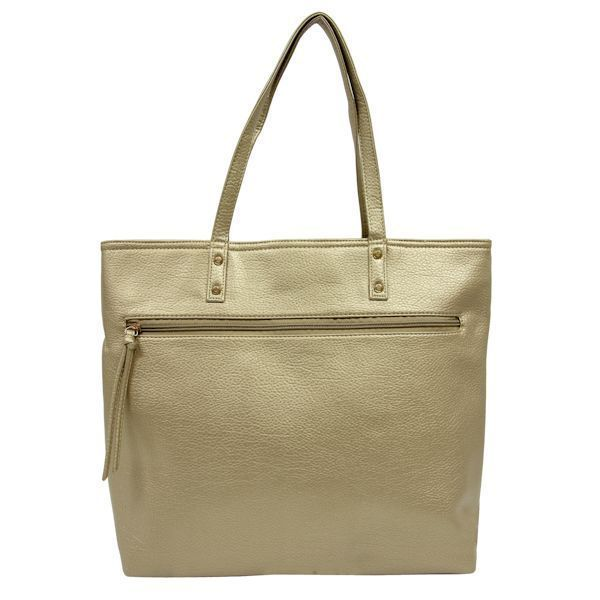 Shopper Tote Bag Gold