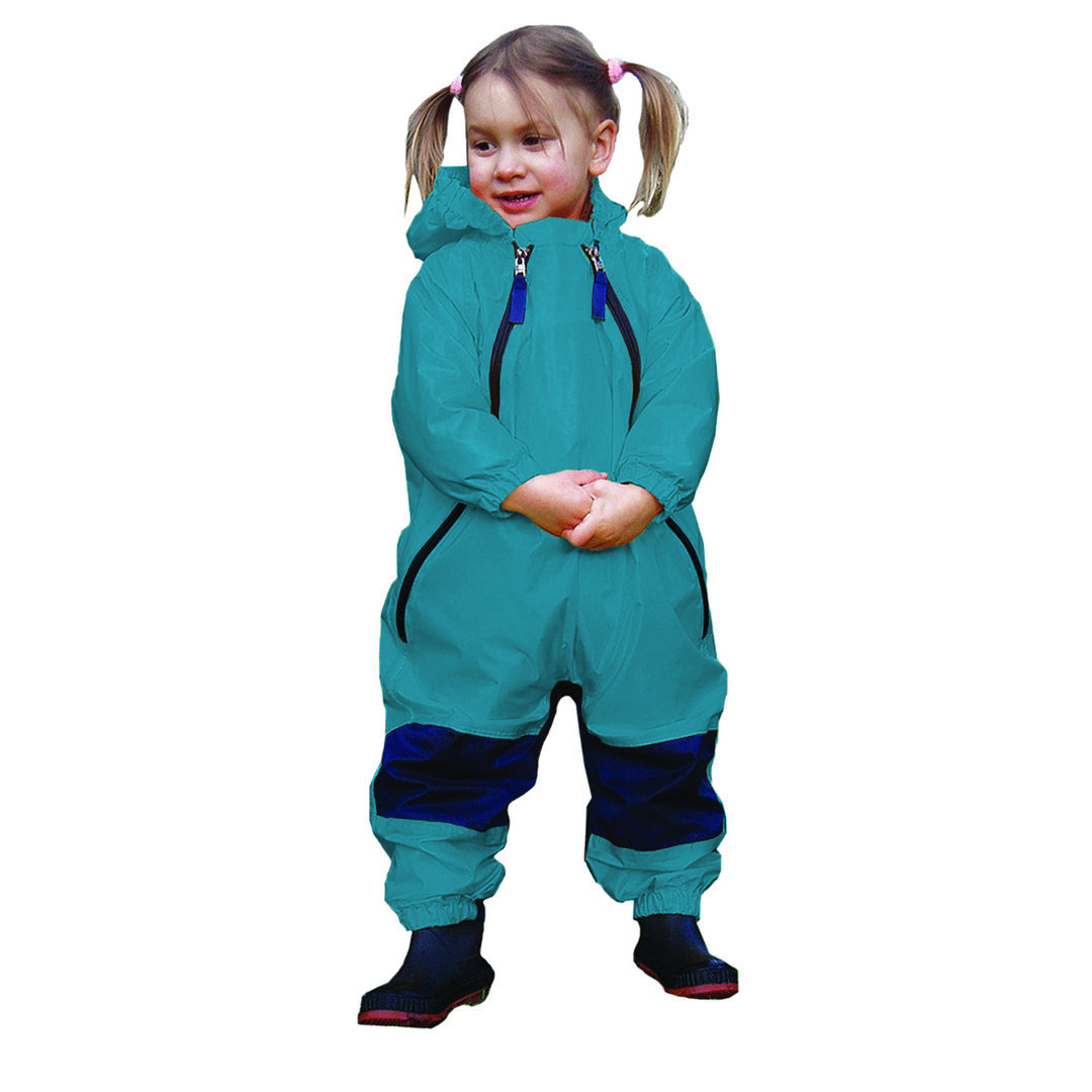 Muddy Buddy All in One Rainsuit Coverall Blue TUFFO
