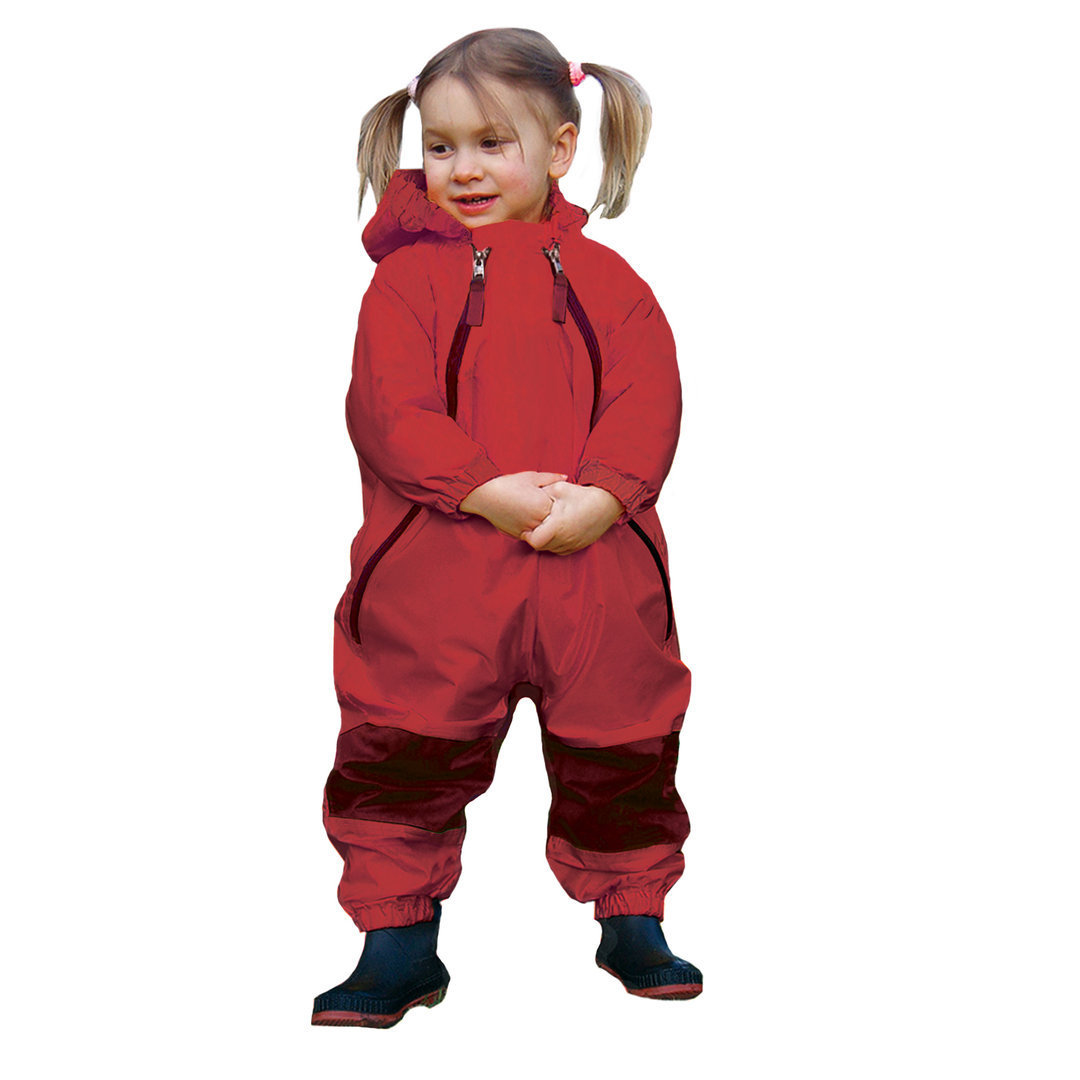 Muddy Buddy All in One Rainsuit Coverall Red TUFFO