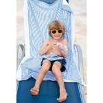 Palm Beach Crew Seersucker Bath Beach Towel-Ket